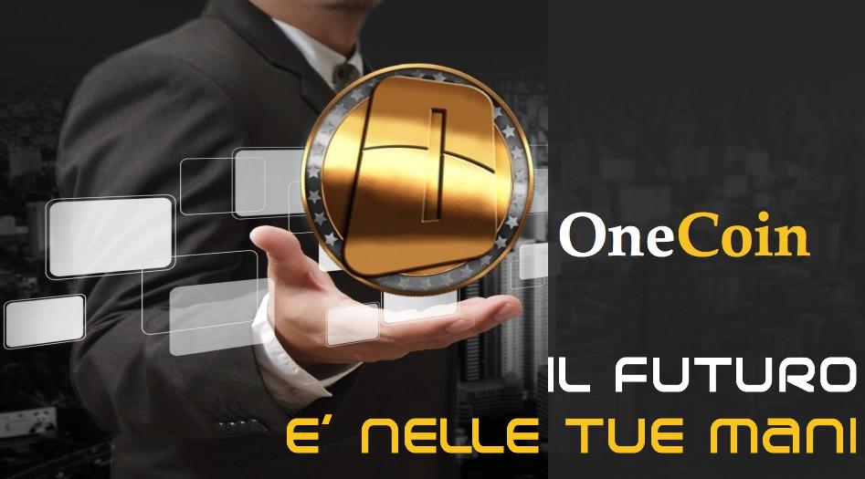 OneCoin il futuro è nelle tue mani