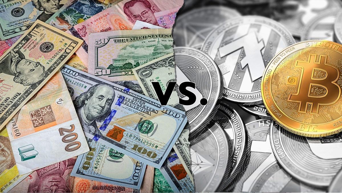 Valte Fiat vs Crypto