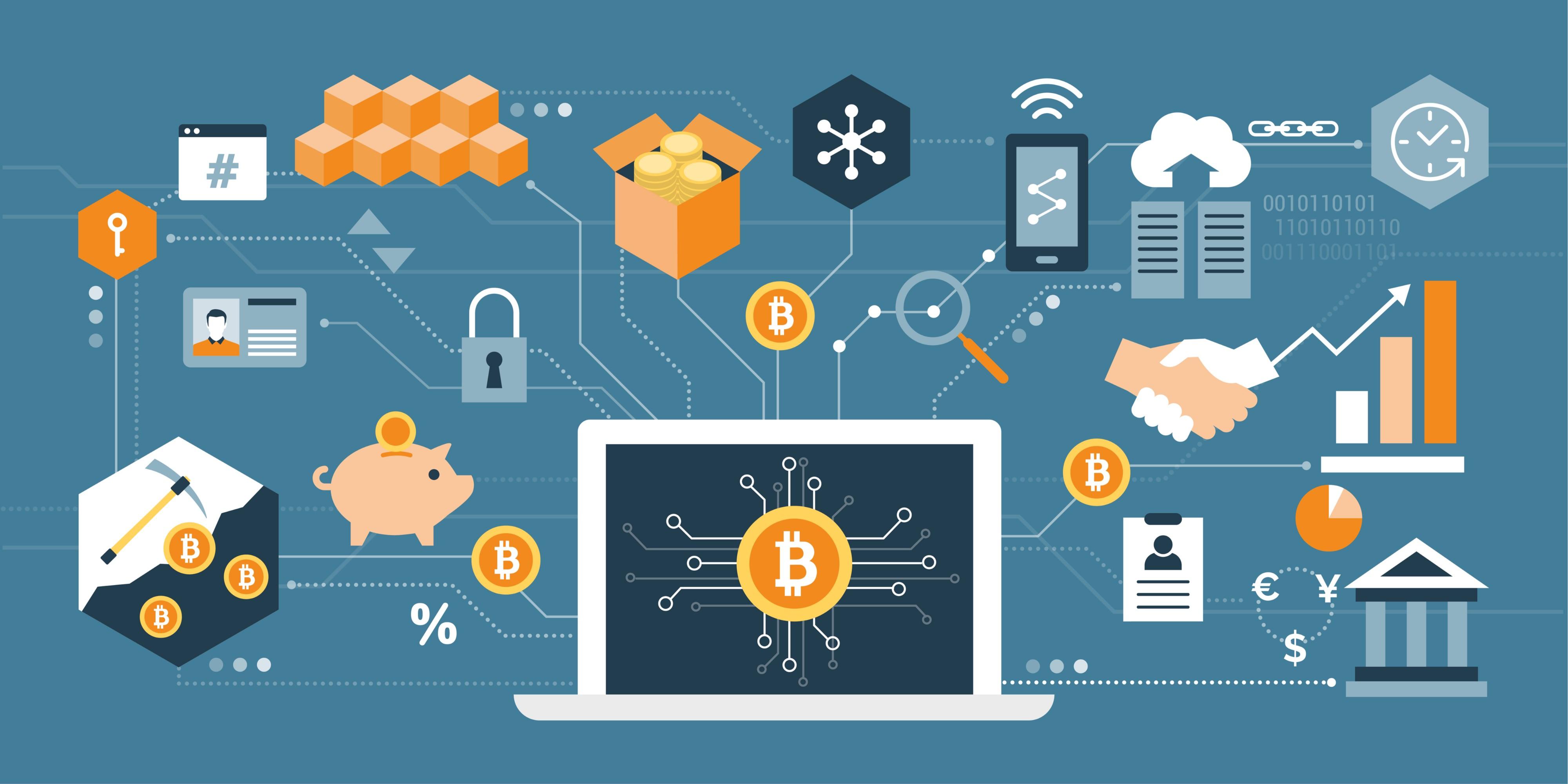 La Blockchain si fonde nel mondo